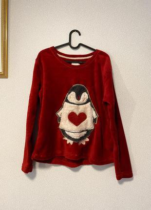 Мягкий уютный домашний свитер пингвин / большая распродажа!