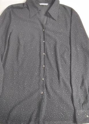 Женская нарядная блузка на пуговицах marks&spencer.