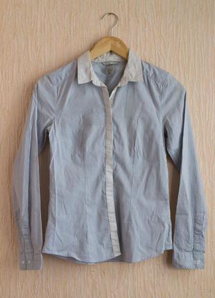 Деловая офисная рубашка h&m