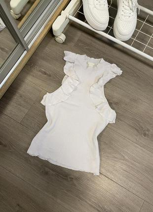 Блуза жилет в рубчик