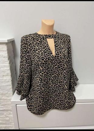 Продам леопардовую блузку