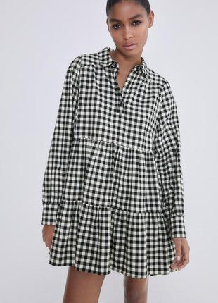 Платье  zara   p s    испания , оригинал
