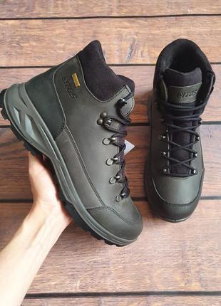 Мужские зимние демисезонные ботинки lytos indiana италия