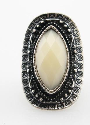 Стильное кольцо мерлуза, безразмерное
