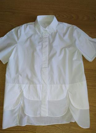 Фирменная оригинальная блуза , р.44