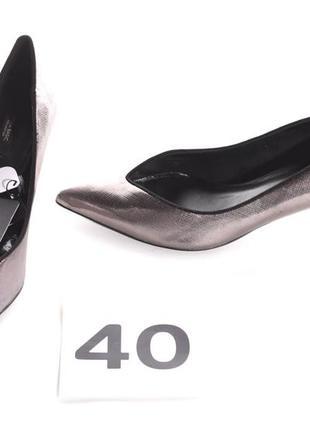 Классические туфли лодочки от zara