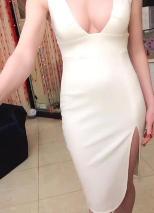 Сексуальне трикотажне плаття s-m