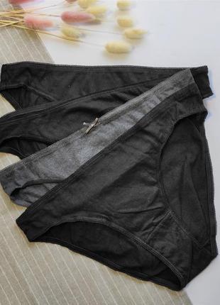 Трусики слип из хлопка, комплект 4 шт, м 40-48 euro, secret possessions
