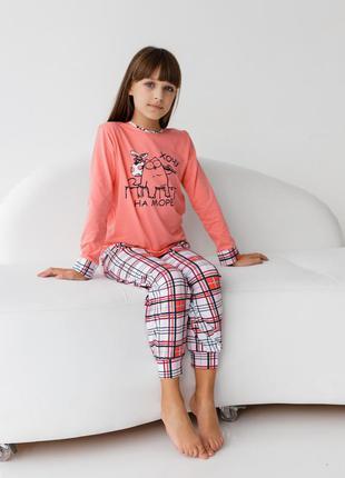 Піжама для дівчинки бавовна nicoletta