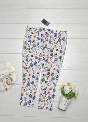 Чудові штани в квіти peacocks.