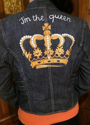 Пиджак ручная роспись