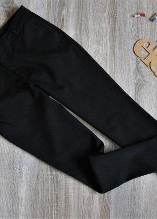 Черные брюки stradivarius eur 36 /38