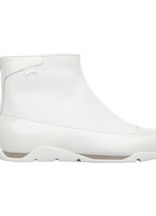 Шикарные кожаные ботинки/полусапожки/ботильоны camper, р. 41( 27) и 37 (24 см) белые, лак