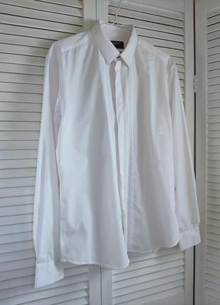 Рубашка белая limited collection m&s