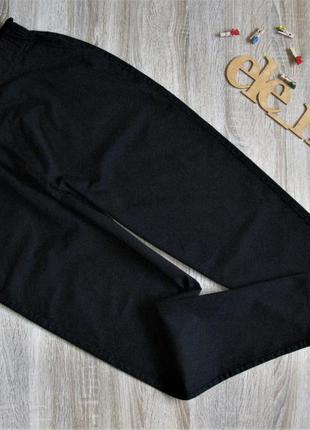Черные свободные брючки пояс резинка eur 42/44