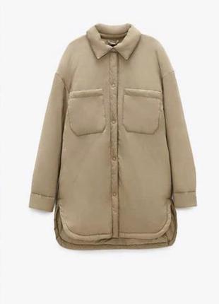 Куртка рубашка zara
