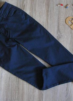 Темно синие стрейчевые брюки chicoree eur 38/40