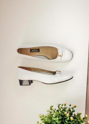 Кожаные классические туфли, натуральная кожа, бренд bally 39,5