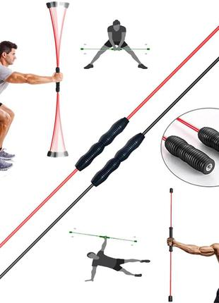 Тренировочная палочка для фитнеса, многофункциональная гимнастическая палочка