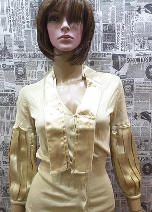 Yuka, италия, наш 44-46 блуза нарядная