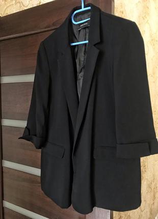 Пиджак удлинённый классический