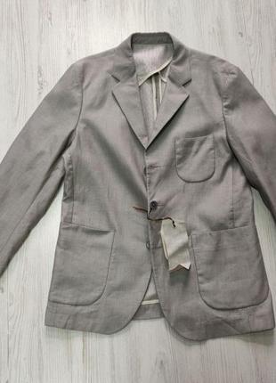 Срочная распродажа! серый стильный мужсой пиджак