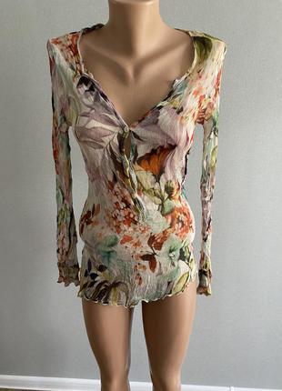 100% шовк/ шелк блуза !