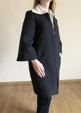 Красиве, елегантне шерстяне пальто zara🔥