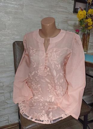 Шикарная, нарядная блуза хб в идеале!!!