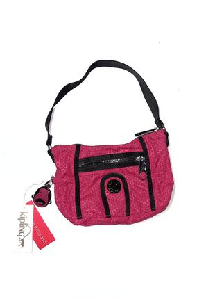 Нова маленька сумочка kipling  колір малина