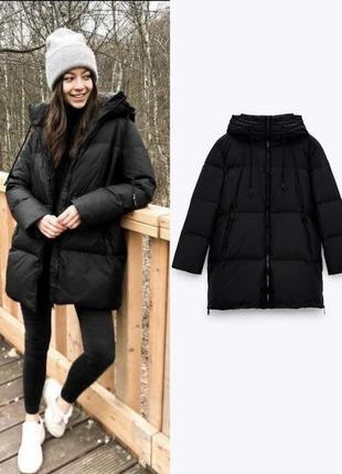 Пуховик зимняя курточка куртка zara