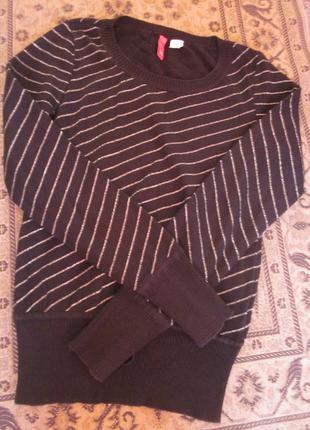 Фирменный свитерок h&m размер xs-s