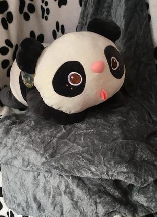 Плед с игрушкой- подушкой панда (есть видеообзор)