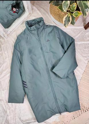 Удлиненная куртка пальто adidas
