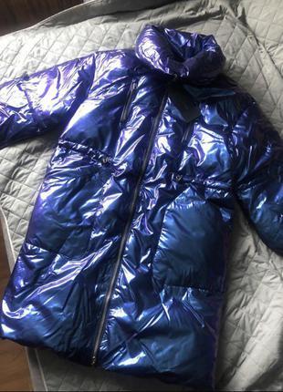 Куртка зимняя хамелеон