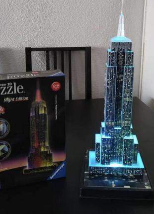 3 d puzzle вежа
