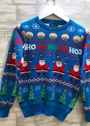 Новогодний свитер next