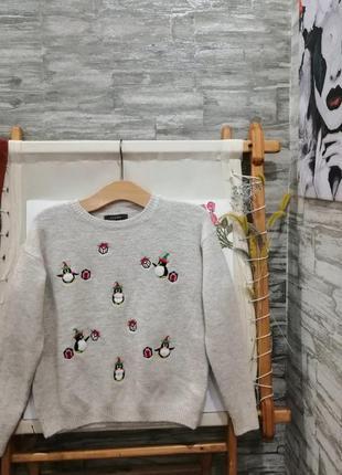 Новогодний свитерок primark