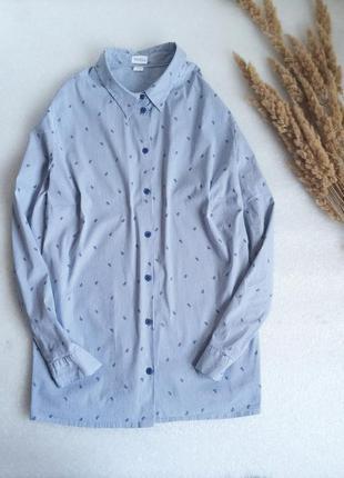 ✨актуальні, ніжна , базова рубашка у смужку ✨