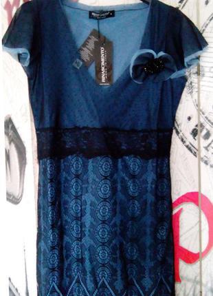 Платье-туника rinascimento, италия, итальянское платье