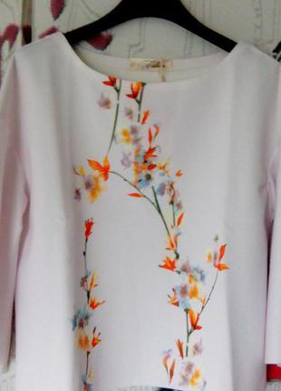 Топ,блузка из дайвинг ткани италия