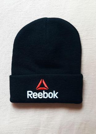 Reebok шапка спортивная новая кепка панама snapback бейсболка теплая зима