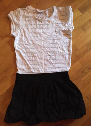 Платье трикотажное на девочку lc wakiki