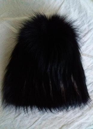 Меховая шапка1