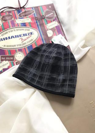 Флисовая шапка для мальчика