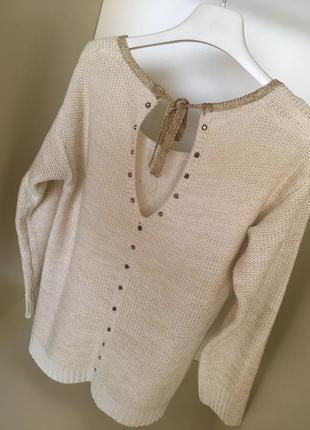 Красивая нарядная кофта блуза свитер