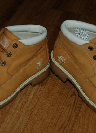 Кожаные ботинки 39 р timberland оригинал вьетнам