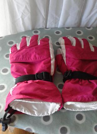 Перчатки горнолыжные/лыжные  (дутые) parallel