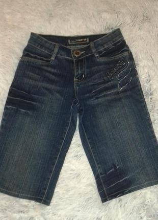 Стильные джинсовые шорты yarrter, р.25.