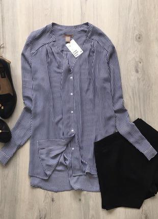 Шифоновая блуза h&m